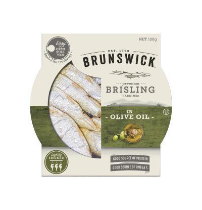 Brunswick Brisling Sardines in Olive Oil