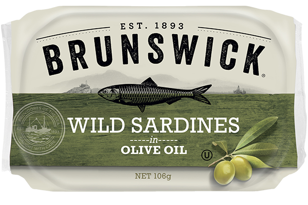 Wild Sardines in Olive Oil