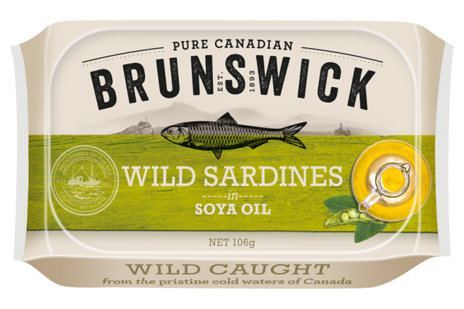 Wild Sardines in Soya Oil